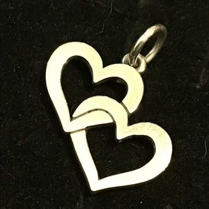 James Avery Cupid's hearts charm